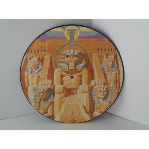 IRON MAIDEN powerslave, POWER P1, picture disc
