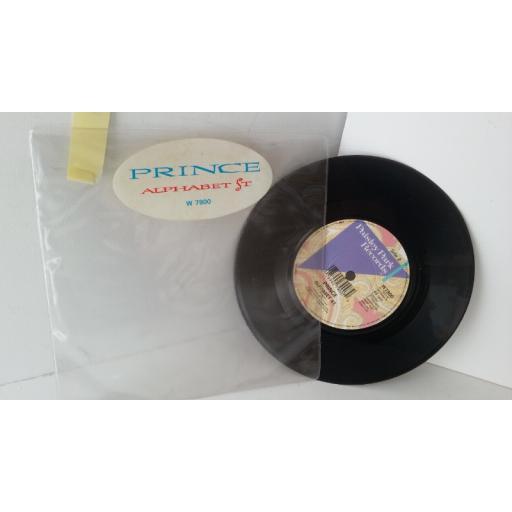 PRINCE alphabet st., 7 inch single, W7900