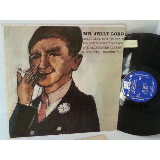 JELLY ROLL MORTON mr jelly lord, RLP 12-132