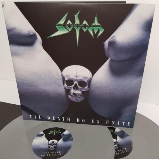 "SODOM, 'til death do us unite, BOBV403LP, 2x12"" LP, limited edition"