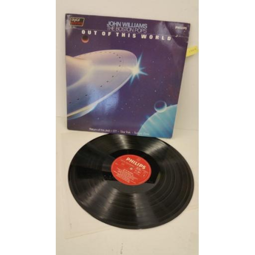 JOHN WILLIAMS, THE BOSTON POPS out of this world, 411 185-1