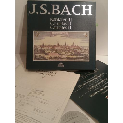 J. S. Bach CANTATAS 2 KARL RICHTER- Archiv 2722 019 4 lp Box Set