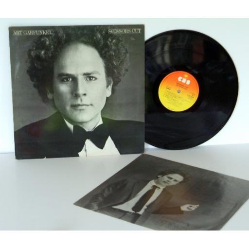 ART GARFUNKEL scissors cut. TOP COPY. First UK press 1981. Matrix A-1, B-1. O...
