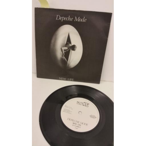DEPECHE MODE new life, 7 inch single, MUTE 014
