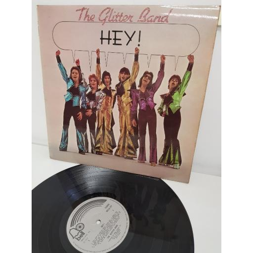 "THE GLITTER BAND, hey!, BELLS 241, 12"" LP"