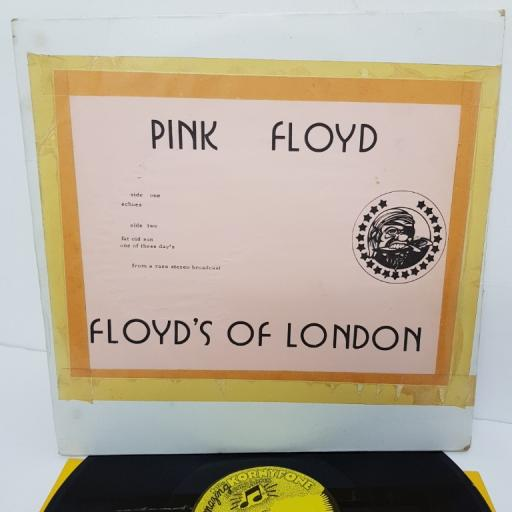 PINK FLOYD, floyd's of london, Echoes, B side fat old sun + one of these days, 12""