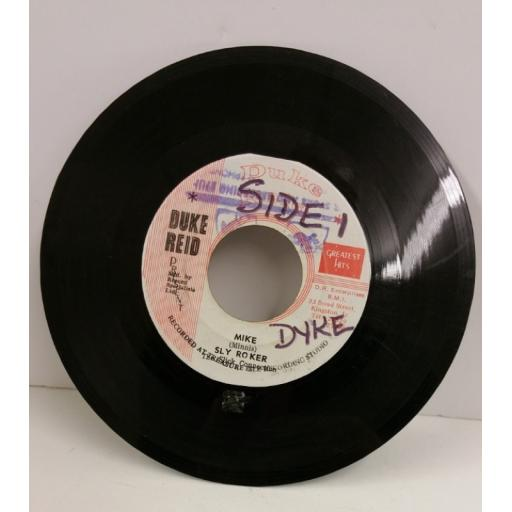 SLY ROKER & THE SLICK CONNECTION mike / like hollywood, humpty dumpty, 7 inch single