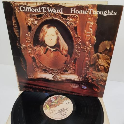 "CLIFFORD T.WARD, home thoughts, CAS 1066, 12"" LP"
