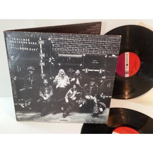 SOLD The Allman Brothers Band AT FILLMORE EAST