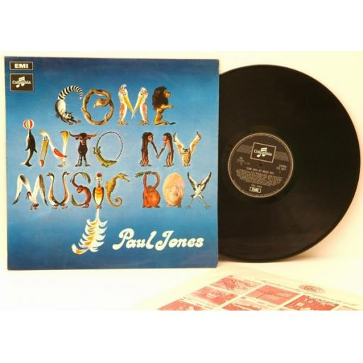 PAUL JONES, come into my music box. Great copy. Very rare. First UK pressing ...