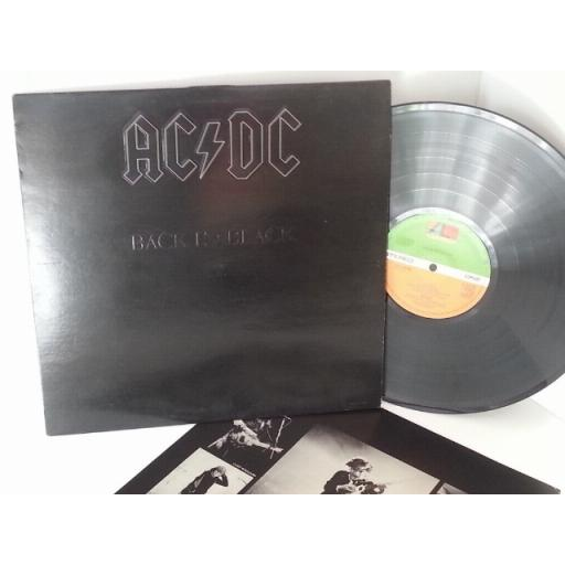 SOLD: ACDC back to black