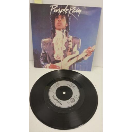 PRINCE AND THE REVOLUTION purple rain, 7 inch single, W9174