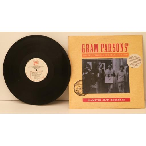 GRAM PARSONS INTERNATIONAL SUBMARINE BAND, safe at home. Great copy. Very rar...