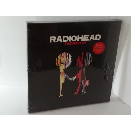 RADIOHEAD the best of, 212107, box set, 4 x vinyl