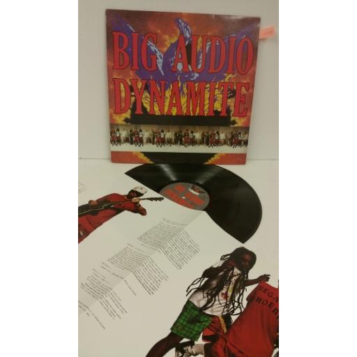 BIG AUDIO DYNAMITE megatop phoenix, picture insert, 465790 1