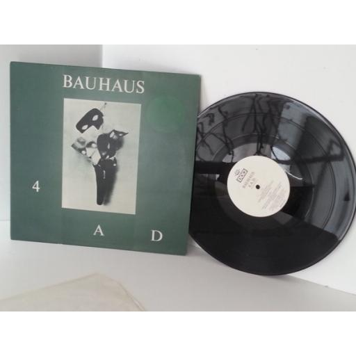 BAUHAUS 4ad, vinyl