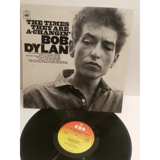BOB DYLAN the times they are a-changin CBS 32021