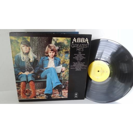 ABBA greatest hits, gatefold, EPC 69218