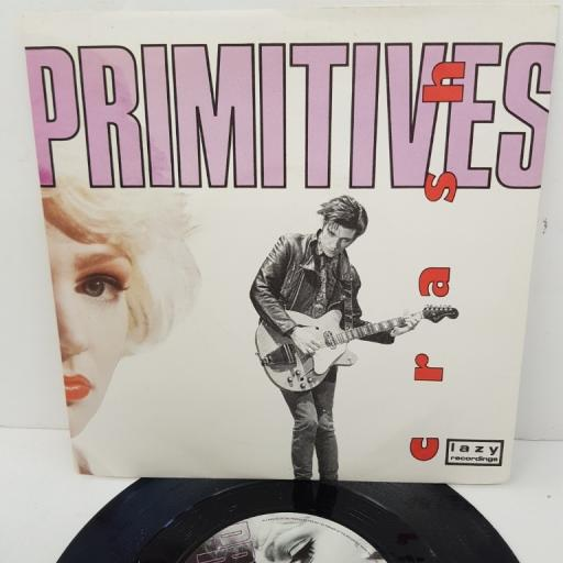 "THE PRIMITIVES, crash, B side I'll stick with you, PB41761, 7"" single"