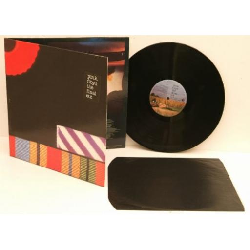 PINK FLOYD The final cut. Title sticker on front