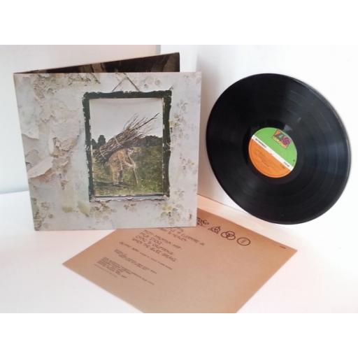 LED ZEPPELIN, Four symbols UK Pressing. FOUR, 4, IV