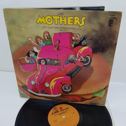 "LAS MOTHERS, just another band from L.A., MS 2075, 12"" LP"
