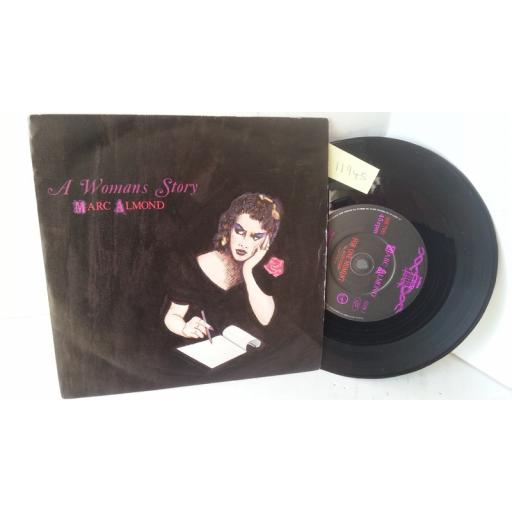 MARC ALMOND a woman's story, 7 inch single, GLOW 2