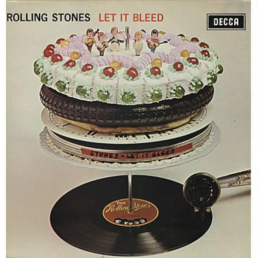 """THE ROLLING STONES Let it Bleed. 12"""" vinyl LP. SKL5025"""