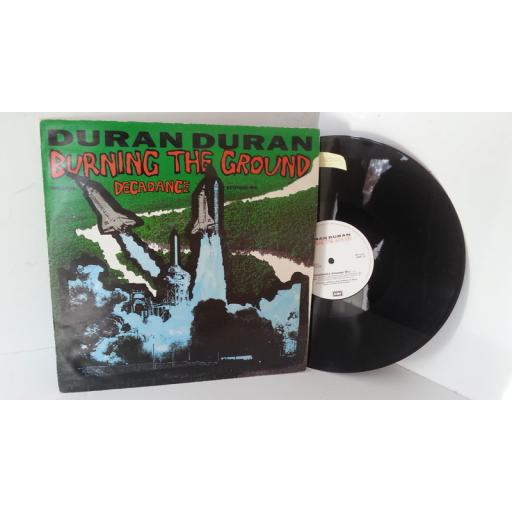 DURAN DURAN burning the ground, 12 inch single, 12DD 13