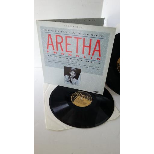 ARETHA FRANKLIN the first lady of soul, gatefold, 2 x lp, SMR 8506