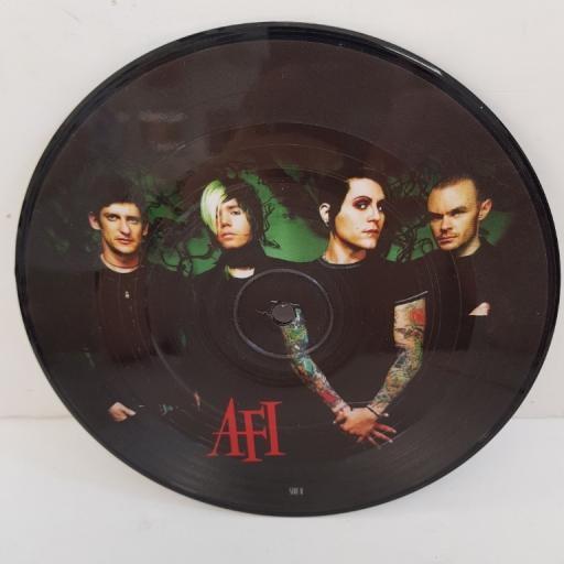 "AFI, miss murder, B side don't change, 9859440, 7"" single, picture disc"