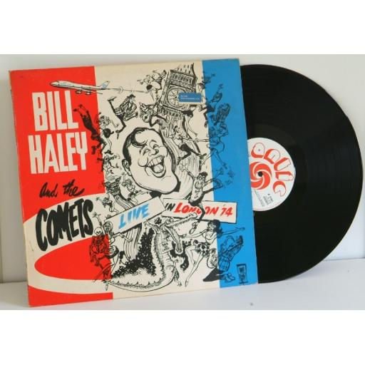 BILL HALEY AND THE COMETS, live in London '74.