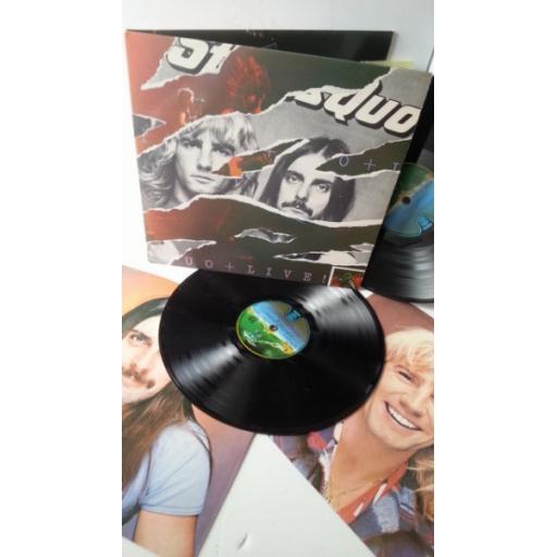 STATUS QUO live, gatefold, double album, 6641 580
