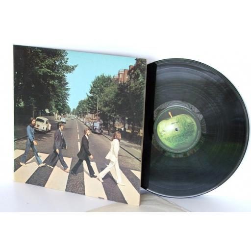 """THE BEATLES Abbey Rd, no """"HER MAJESTY"""" ON LABEL UK pressing 1969 Parlophone [Vinyl]"""