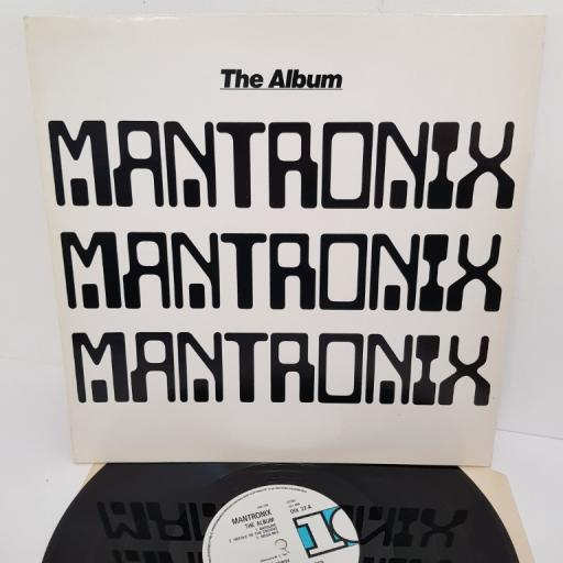 "MANTRONIX, the album, DIX 37, 12"" LP"