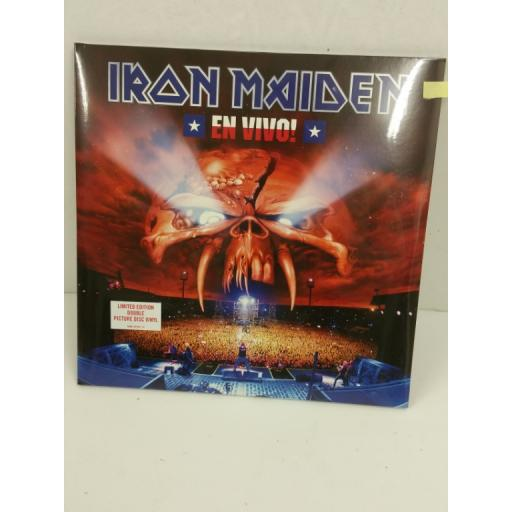 IRON MAIDEN en vivo!, limited edition, 2 x lp, picture disc, 50999 301587 1 9