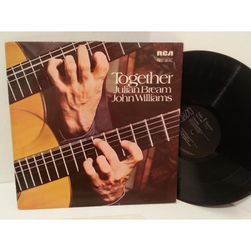 JULIAN BREAM AND JOHN WILLIAMS together, RCA LP 3003