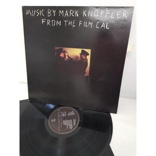 """MUSIC BY MARK KNOPFLER FROM THE FILM CAL, VERH 17, 12""""LP"""
