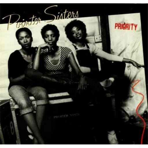 POINTER SISTERS priority, K 52161
