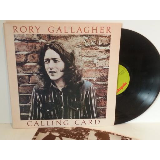 Rory Gallagher CALLING CARD, CHR 1124