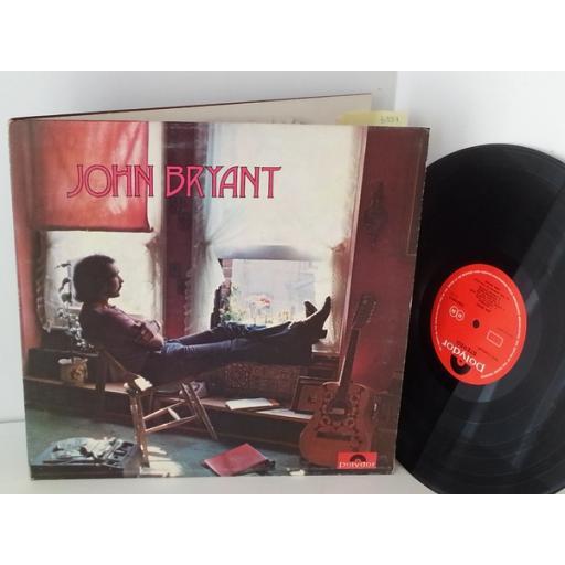 JOHN BRYANT john bryant, 2383 069, gatefold