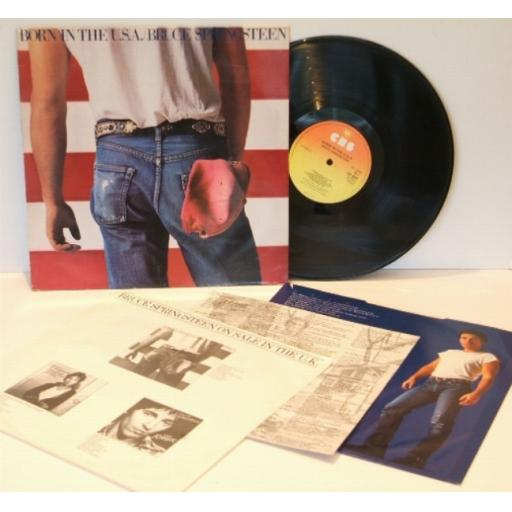 SOLD BRUCE SPRINGSTEEN, born in the U.S.A.