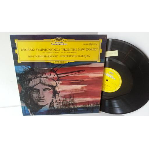 "DVORAK, BERLIN PHILHARMONIC, HERBERT VON KARAJAN symphony no.5 ""from the new world"", 138 922"