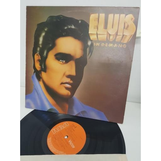 "ELVIS PRESLEY, elvis in demand, PL 42003, 12"" LP"