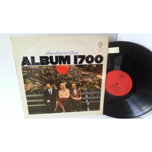 PETER, PAUL & MARY album 1700, WS 1700