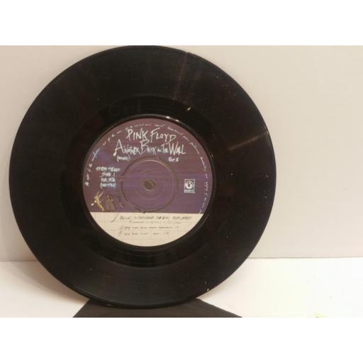 "PINK FLOYD another brick in the wall & one of my turns 7"" SINGLE HAR5194"
