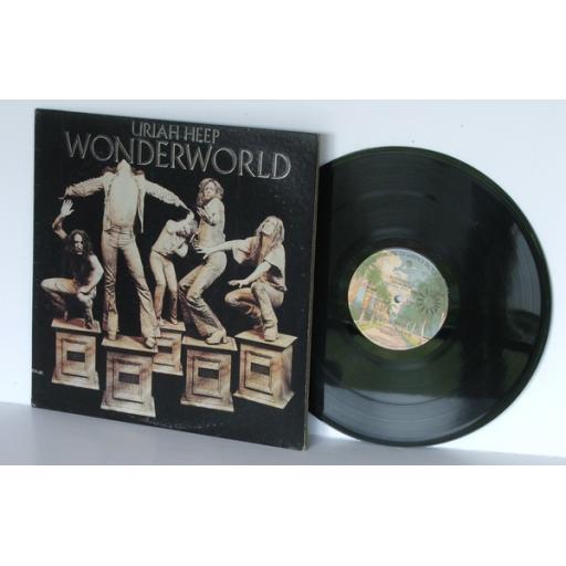 URIAH HEEP wonderland US pressing 1974 BRONZE / W Bros [Original recording]
