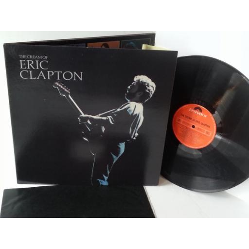 ERIC CLAPTON the cream of eric clapton, gatefold, ECTV 1