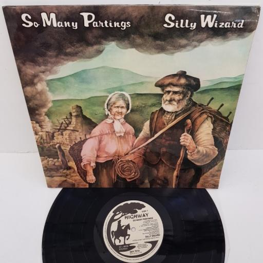 """SILLY WIZARD, so many partings, SHY 7010, 12"""" LP"""