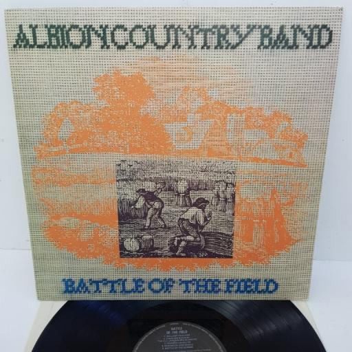 "ALBION COUNTRY BAND, battle of the field, HELP 25, 12"" LP"